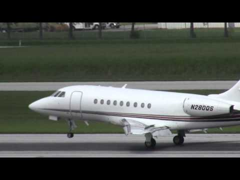 N280QS Arrival at KCMH 1 May 2012