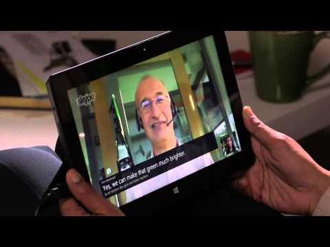 Skype Translator (demo Microsoft)