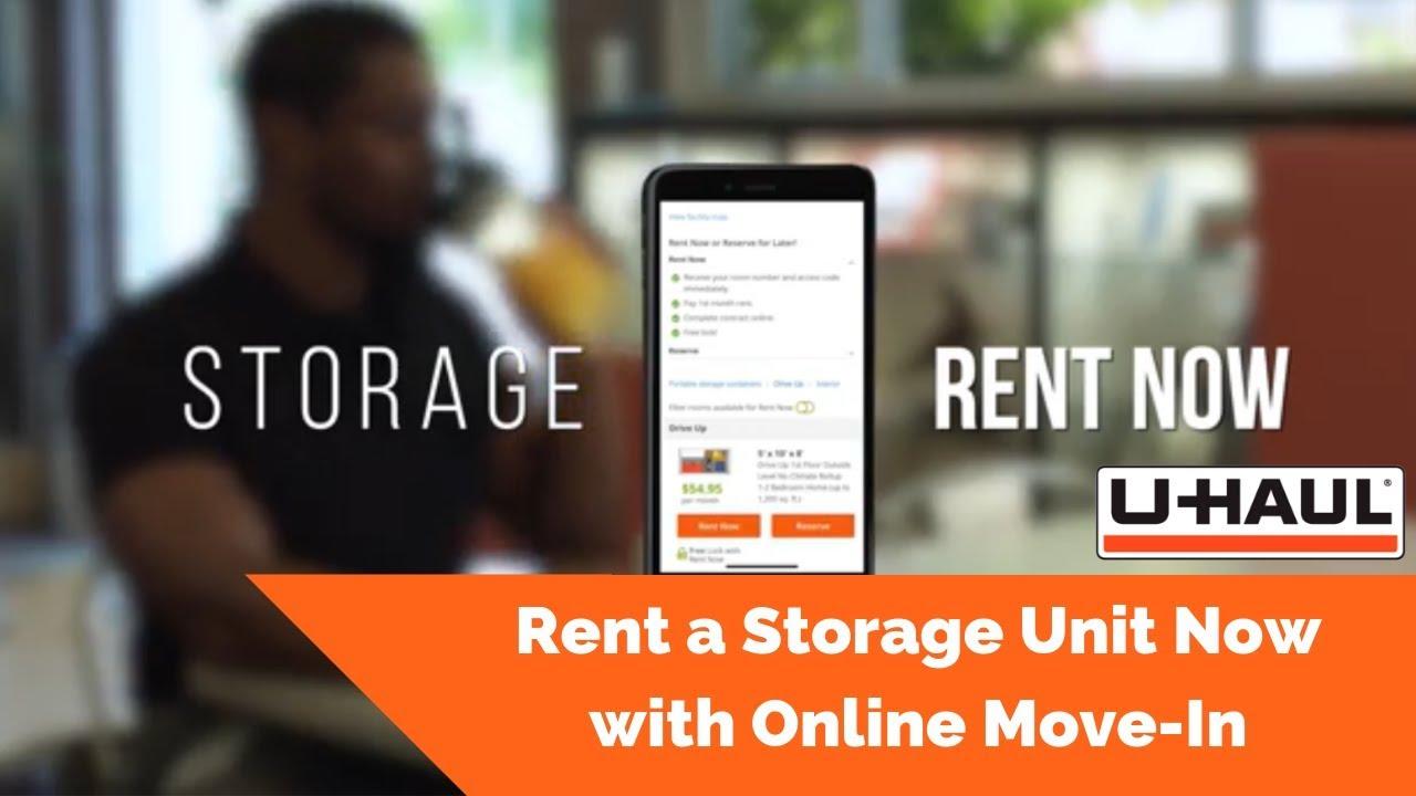 Uhaul rent now