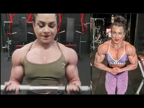 FITNESS MODEL- MIREA HENRIQUEZ , IFBB MUSCLE, FEMALE BODYBUILDING, WORKOUT,