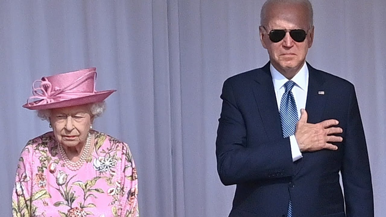 Joe Biden Is Accused Of Breaching Royal Protocol As He Revealed His Conversation With Queen To Press