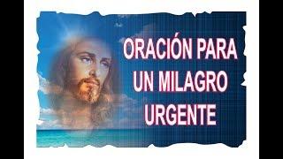 ORACIÓN PARA UN MILAGRO URGENTE | ESOTERISMO AYUDA ESPIRITUAL