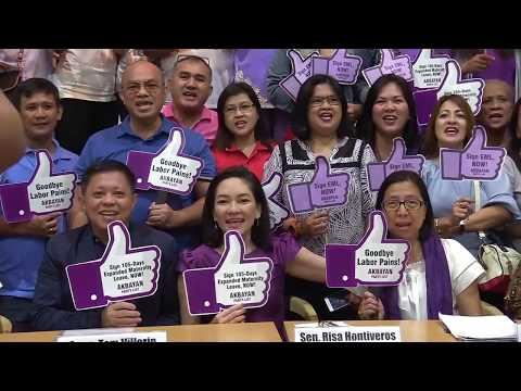 Mothers, labor groups, call for signing of Expanded Maternity Leave bill