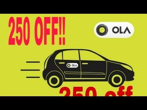 ola cab coupon