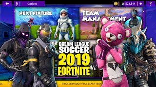 DREAM LEAGUE SOCCER 2019 MOD Fortnite (All Players Unlocked + Unlimited Coins