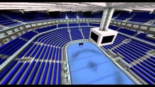 Minecraft Hockey Arena [DOWNLOAD]