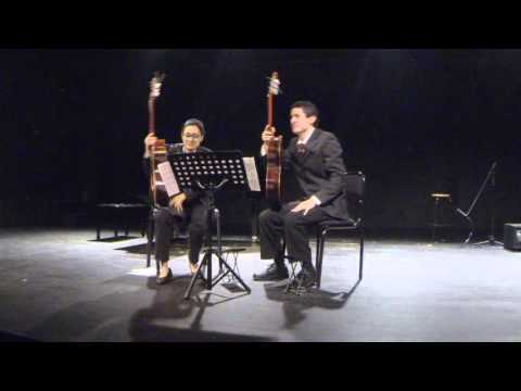 Dueto de guitarra. Eliminatoria del Concurso de Interpretación de Música de Cámara