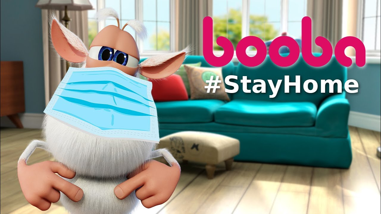 Booba 😷 #StayHome #WithMe 🏠 Compilation – Funny cartoons for kids – Booba ToonsTV