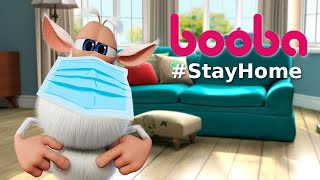 Booba 😷 #StayHome #WithMe 🏠 Compilation - Funny cartoons for kids - Booba ToonsTV