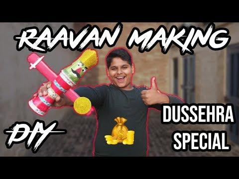 How to make Ravaan at Home | Ravan Making DIY for Children | India