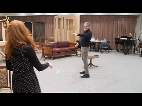 MY FAIR LADY  In Rehearsal