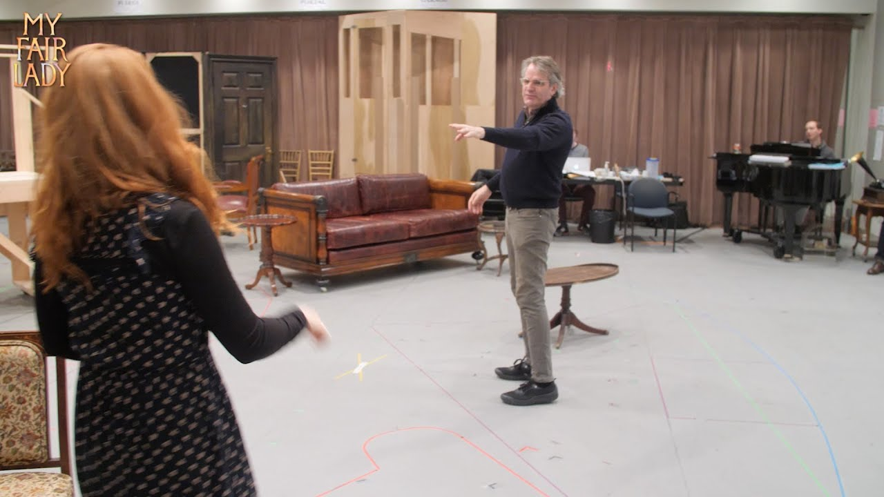 MY FAIR LADY - In Rehearsal
