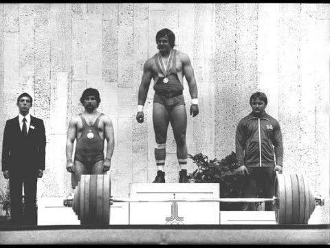 Baczakó Péter  Olympic Weightlifting Champion!  1980  Moscow  90kg