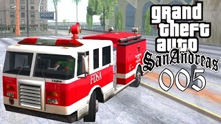 GTA San Andreas #005 🔫 Deutsch 100% 🔥 Feuerwehr Missionen (Level 12) ∞ Let