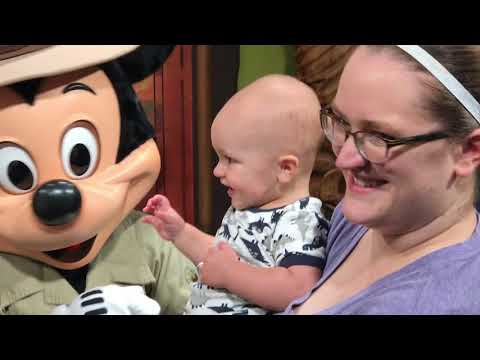 Sam Meets Mickey & Minnie Mouse