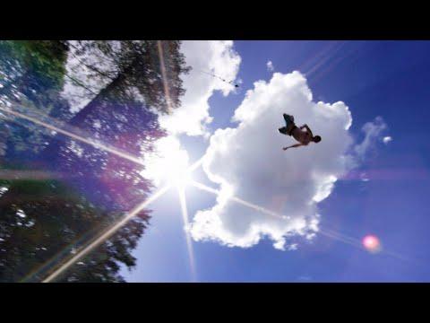 50 Foot Rope Swing Into Lake! In 4K | DEVINSUPERTRAMP