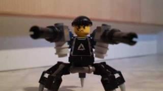 LEGO Agents MOC Characters