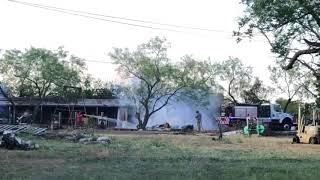 Fire At Cauley Lane