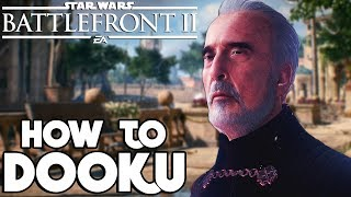 Star Wars Battlefront 2: How to Not Suck - Count Dooku Hero Guide and Review