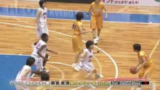 高校バスケ選抜大会2012 女子決勝 桜花学園 vs 聖カタリナ女