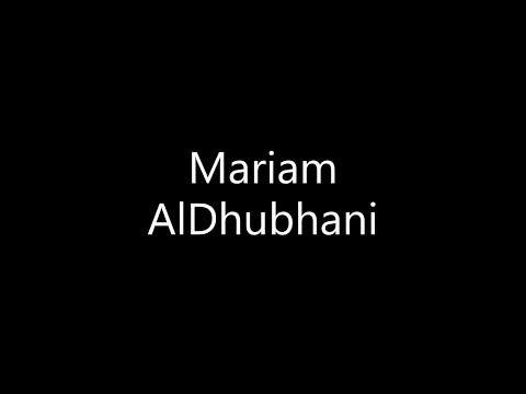 Mariam AlDhubhani,  Award-Winning Journalist & Filmmaker - AJTY 2021
