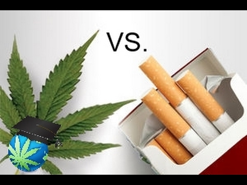 cigarettes vs marijuana When contrasting weed and alcohol, there are lots of factors to consider,  with a  lower risk of heart attack and stroke compared with abstention  risk of the lung  cancers or head and neck cancers tied to smoking cigarettes.
