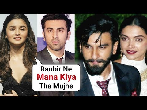 Alia Bhatt And Ranbir Kapoor AVOIDED Deepika Ranveer Mumbai Reception