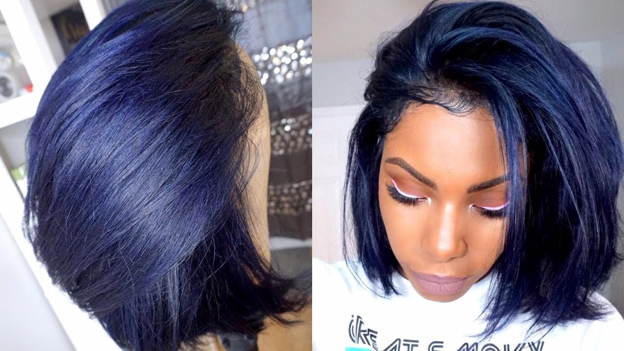 raven midnight blue hair color