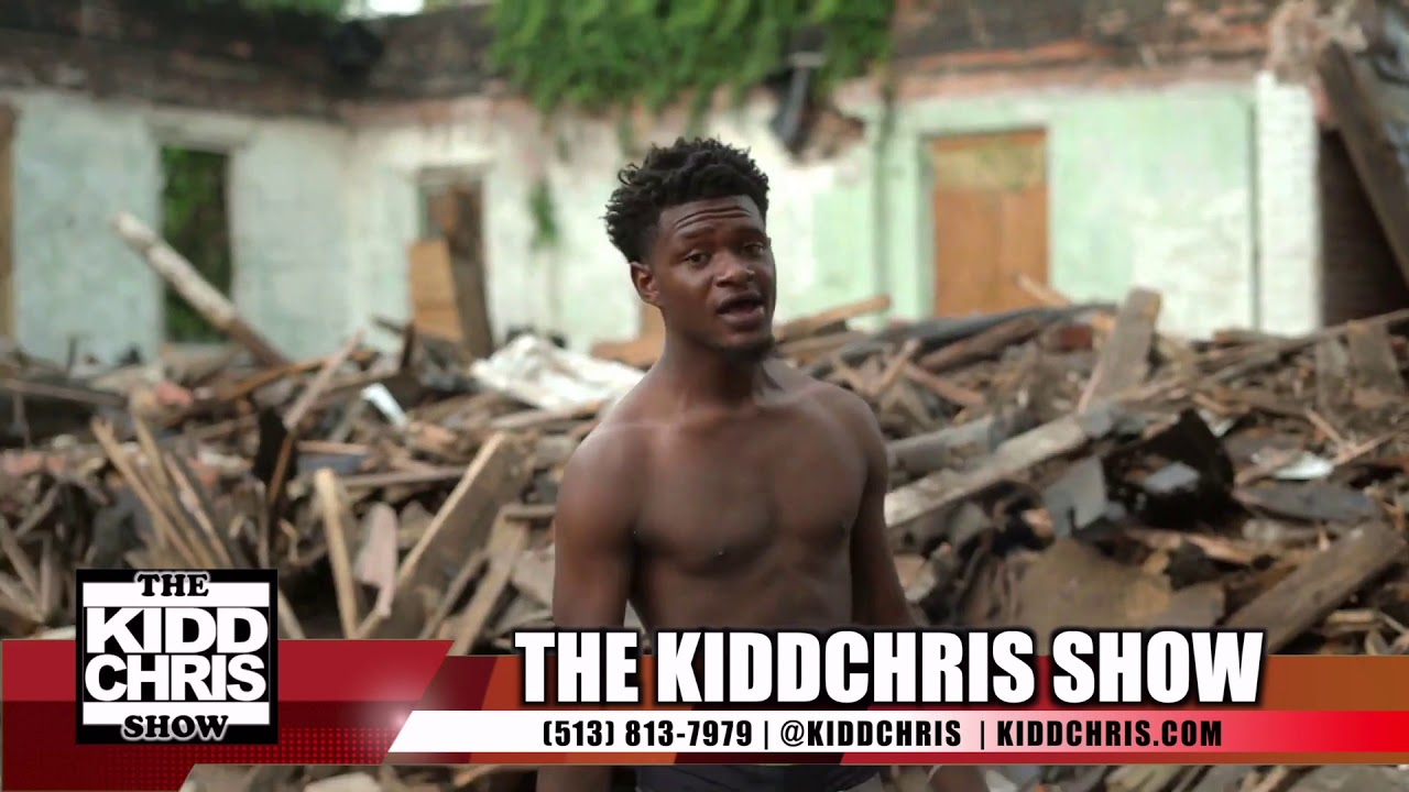 The KiddChris Show - Reviewing a Gangster Rap Video from Price Hill with Kids w/Guns and Drugs.