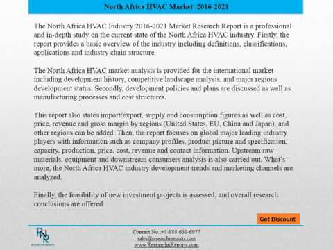 North Africa HVAC Market (2015-2022) - Forecast & Analysis