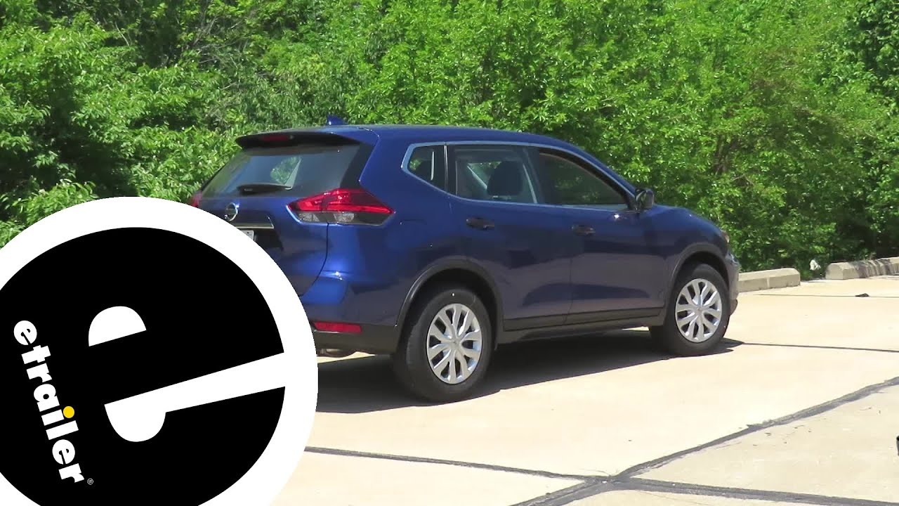 Install Trailer Hitch 2017 Nissan Rogue C13204   Etrailer.com