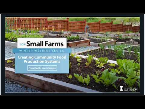 Creating Community Food Systems, Thursday, February 22, 2018 - Laurie George