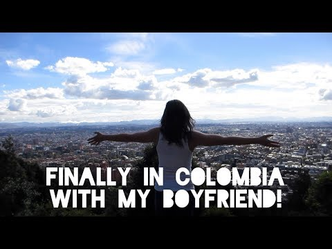COLOMBIA WITH MY BOYFRIEND // week one vlog