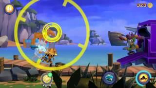 Angry Birds Transformers BAD COP Tag Team - Optimus Prime, Barricade & Wheeljack Gameplay