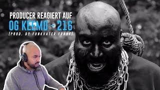 Producer REAGIERT auf OG Keemo - 216 (prod. by Funkvater Frank)