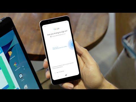 Ya puedes usar tu teléfono Android como llave de autenticación de dos factores