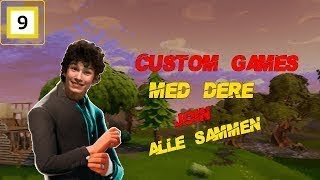 Custom Games - Creator Code: DavidKielland - Norsk Fortnite Stream