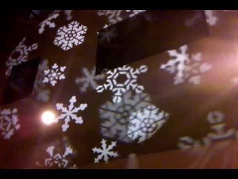 Snowflake Gobos Holiday Gobos Snow Gobo Youtube