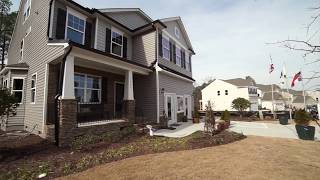 The Drexel Model Home At Hope Valley Ridge Eastwood Homes Youtube