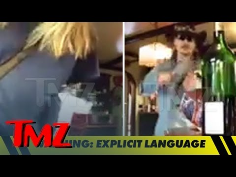 Johnny Depp -- Goes Off on Amber Heard ... Hurls Wine Glass