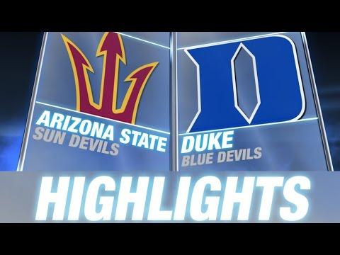Arizona State vs Duke   2014 ACC Football Highlights