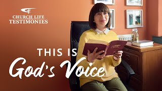 "2021 Christian Gospel Testimony Video | ""This Is God's Voice"""