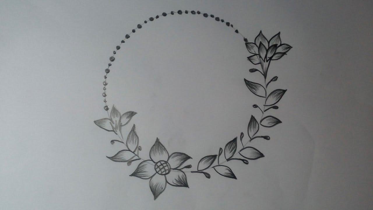 Flower Designs Simple Mandala Design