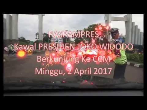 PASPAMPRES Kawal Presiden JOKO WIDODO Berkunjung Ke CCM Cibinong City Mall - Minggu 2 April 2017