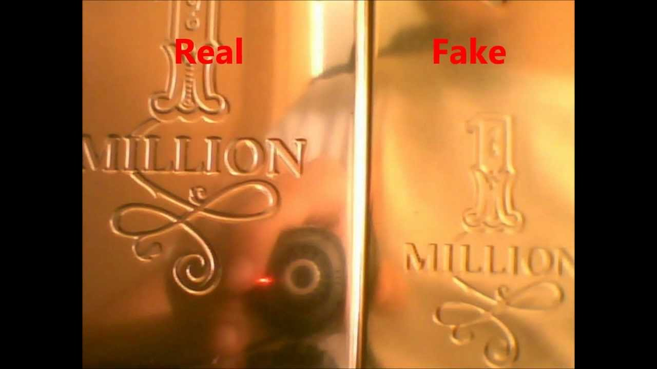 How To Spot A Fake One Million By Paco Rabanne Youtube