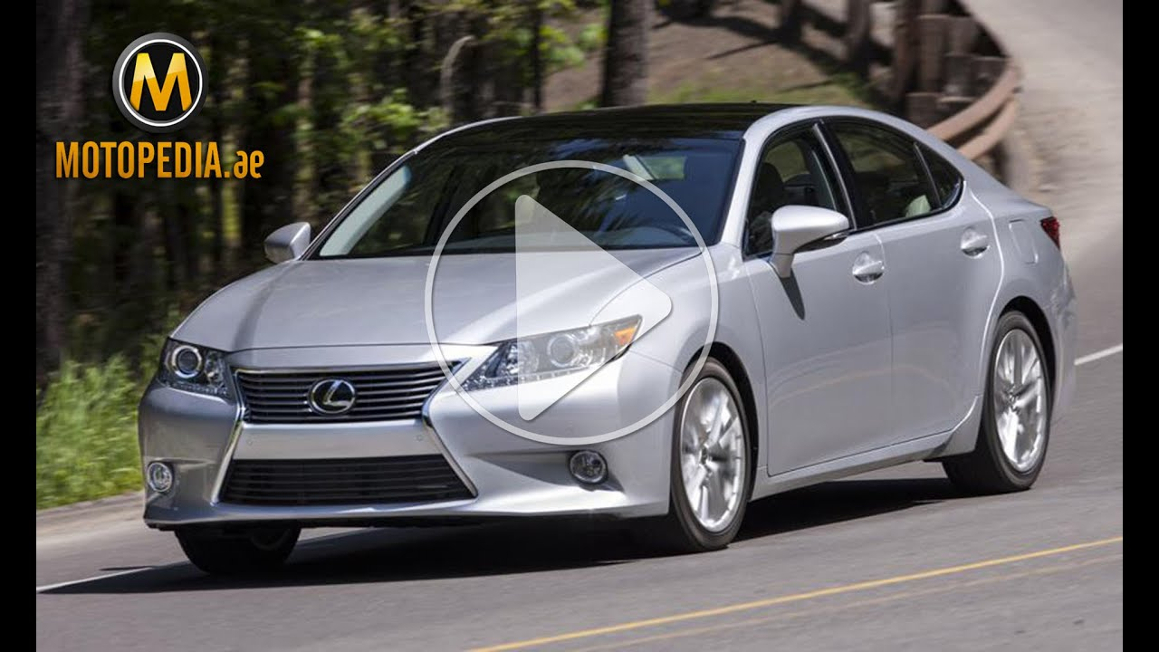 Superb 2014 Lexus ES 350 Review   تجربة لكزس اي اس 350 2014   Dubai UAE Car Review  By Motopedia.ae