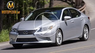 2014 Lexus ES 350 review - تجربة لكزس اي اس 350 2014 - Dubai UAE Car Review by Motopedia.ae