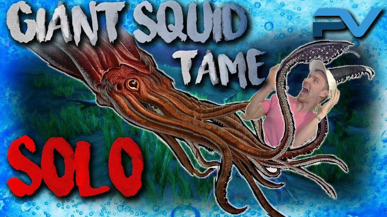 ARK: THE CENTER | TAMING A TUSOTEUTHIS | HOW TO SOLO TAME A GIANT ...
