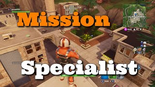 Mission Specialist Showcase-Fortnite Battle Royale Skin Gameplay
