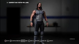 WWE 2K18: How To Make Seth Rollins Wrestlemania 34 Attire